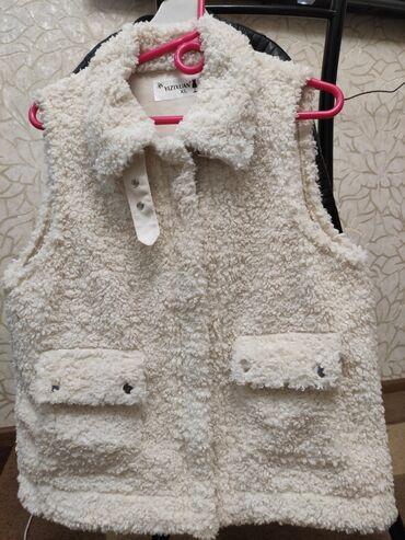 Жилетки - Кыргызстан: Шикарный жилет Teddi оригинал, можно стирать в машинке (новая размер