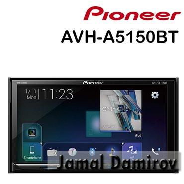 Bakı şəhərində Pioneer AVH-A5150BT DVD-monitor.