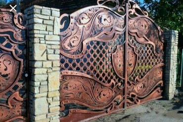 Кованная ворота. на любой вкус и каприз в Бишкек