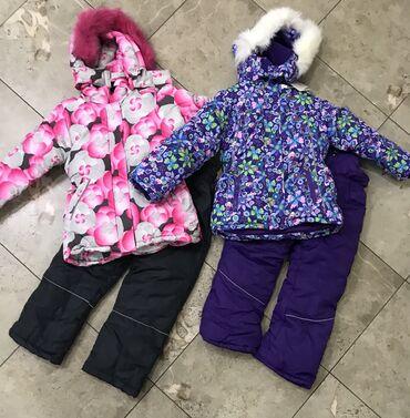 лыжный костюм бишкек цены in Кыргызстан | ВЕРХНЯЯ ОДЕЖДА: Продаю два новых зимних костюма на девочку: зимняя куртка и