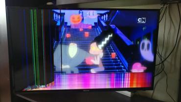 телевизор smart tv в Кыргызстан: Продаю телевизор Hisense 43N2170PW FullHD smart TV на запчасти