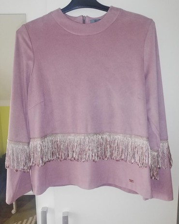 Ps-fashion-bluzica-cvetna - Srbija: Bluza sa resama PS fashion