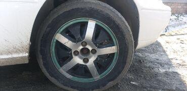 диски 4 100 14 в Кыргызстан: Продаю или обмен на резину зимний диски 14-4-100 в месте с покрышками