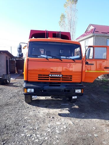 Купить камаз самосвал 65115 бу - Кыргызстан: Евро камаз 65115 мусоровоз 18 куб на ось 2012 год турбо 33т $