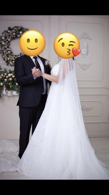 Продаю свадебное платье+накидка. Цвет айвори. Платье заказывали из Евр
