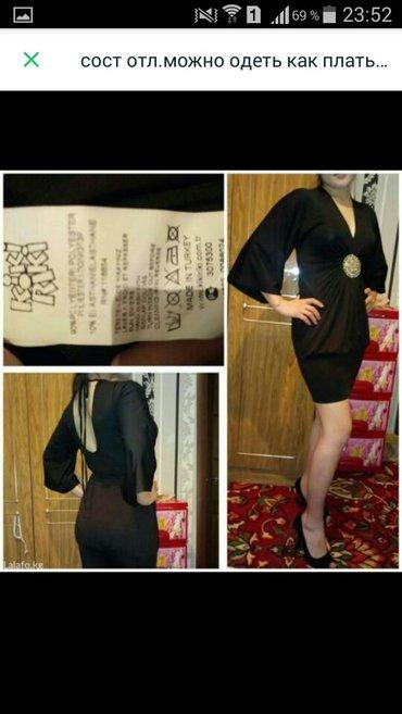 отл.сост.можно беременным.Платье можно туника. размер стандарт. в Бишкек
