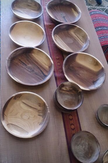 Посуда в Кыргызстан: Жыгач табак диаметр 36 - 12 см