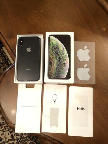 iphone чехол чёрный в Азербайджан: Б/У iPhone Xs 64 ГБ Черный (Jet Black)