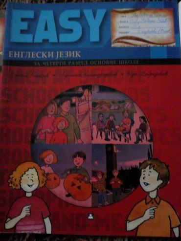 Easy Engleski Zavod za 4 razred+2 CD-a - Vrbas