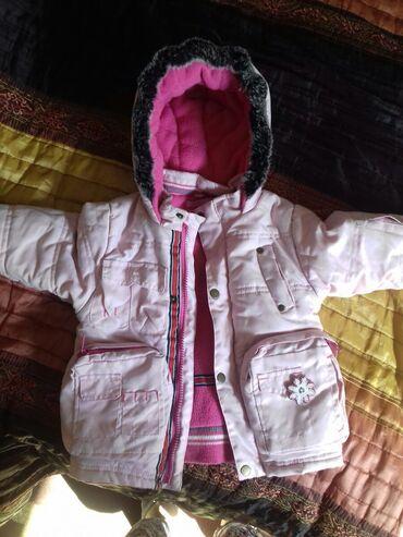 Куртка для девочки на 2,5-3,5 годика. Фабричный Китай. Состояние