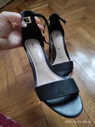Кожаные туфли 36 размер, бренд ALDO,носила один раз,прошу 2500 сом