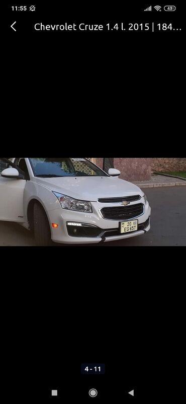 Chevrolet - Azərbaycan: Chevrolet Cruze 1.4 l. 2015 | 180000 km