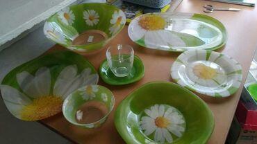 люминарк посуда в Кыргызстан: Продаю посуду Люминарк 38 предметов Новая не разу не