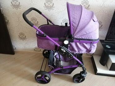 Ciriq usaq kombinzonlari - Azərbaycan: Продаю детскую коляску, не использовалась, как новая