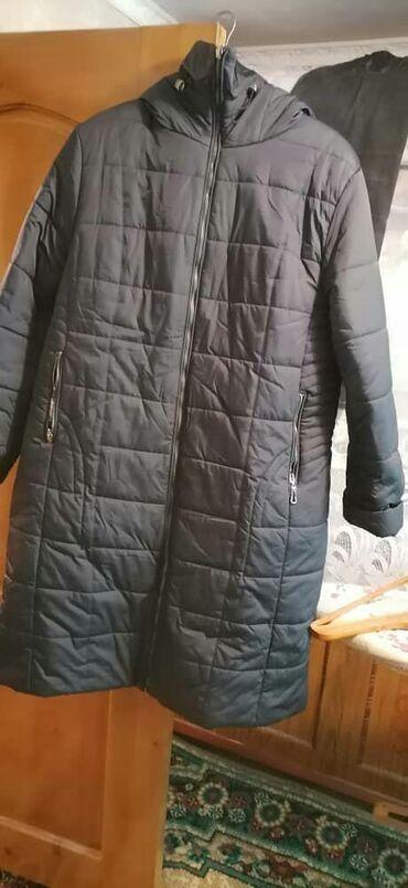 Продаю осенюю-зимнюю куртку 56 размера в хорошем состоянии одевали