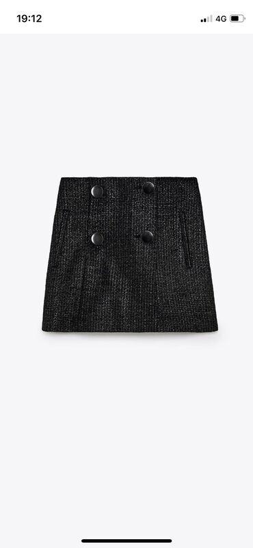 Suknja pantalone sa etiketom