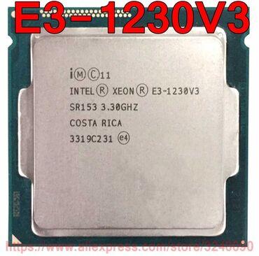 Xeon 1230v3 (i7-4770) сокет 1150- подходит на любую материнку- Haswell