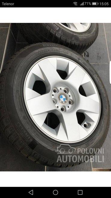 "Felne i gume BMW prodajem ,felne su dvodelne ,17"" et 24 raspon rupa - Ub"