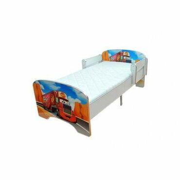 Krevet dečiji crveni Kamion bez fioke ar-1804 CENA: 8.790 dinara