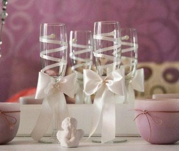 Свадебные аксессуары - Кыргызстан: Свадебные аксессуары Принимаю заказы на изготовление свадебных аксессу