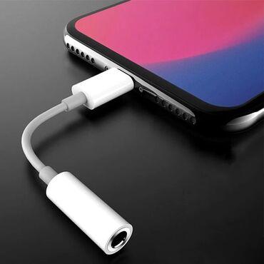 переходник для наушников razer в Кыргызстан: Переходник наушников 3.5mm для телефонов iPhone  г.Токмок