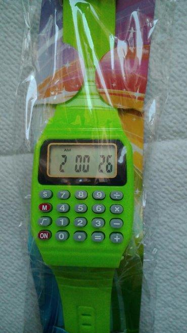 Ostalo | Kraljevo: Sat sa digitronom ultra zeleni novoo neotpakovano nekada hit u skoli