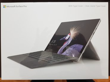 Microsoft Surface Pro (5th generation) & Platinum type cover в Баку