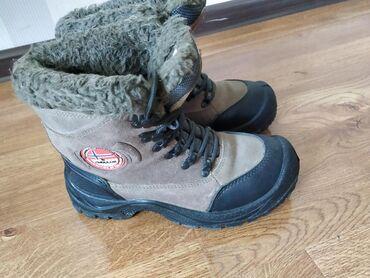 Личные вещи - Кок-Джар: Продаю! Горные ботинки. Натуральная замша. Немецкая обувь.38 размер