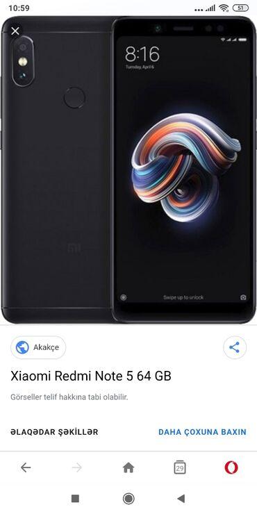 Yeni Xiaomi Redmi Note 5 qara