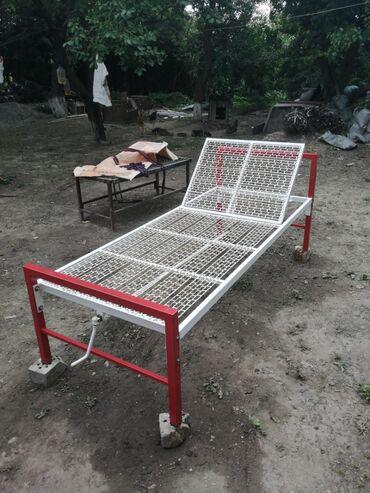 Кровать для лежачих больных с регулировкой спинки