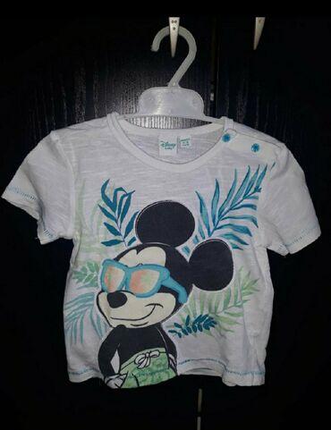 Dečiji Topići I Majice | Prokuplje: Disney Mickey mouse majica nova Veličina 80/86Pogledajte i ostale moje