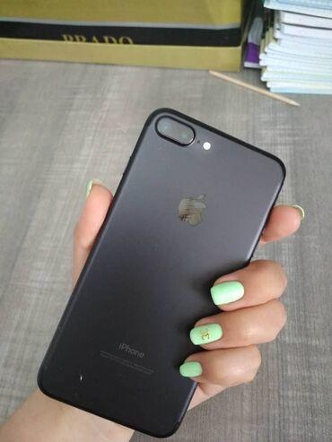 Электроника - Кыргызстан: Б/У iPhone 7 Plus 32 ГБ Черный