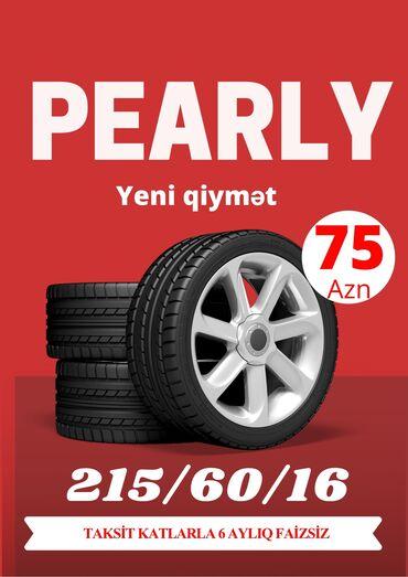 Bridgestone tekerleri - Azərbaycan: 215/60/16 Pearly Tekerleri
