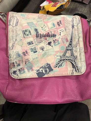 Итальянский кожанный рюкзак! Удобный, в Бишкек