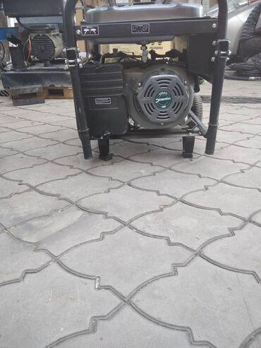 Инструменты - Кыргызстан: Организация продает бензогенератор DEMARK DMG 6800 F Цена с учетом НД