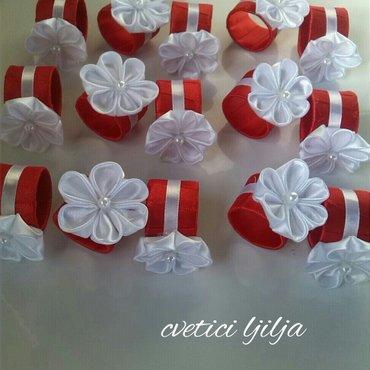 Prstenovi za salvete moguca izrada u svim bojama - Beograd