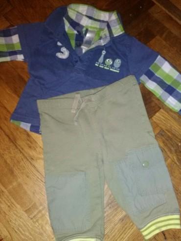 Ostala dečija odeća | Kovin: Dopo dopo mini kosuljica i pantalone mex 2-4mes komplet 200din