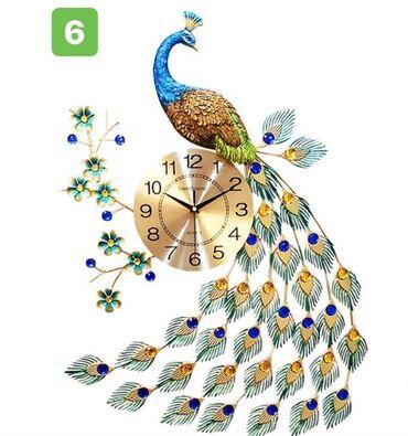 купить квартиру в новом доме бишкек в Кыргызстан: Часы павлин🦚. Размер 75:65