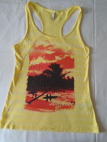 Atlet majice - Srbija: Lepa atlet majica za romantične trenutke, Fishbone, S veličine