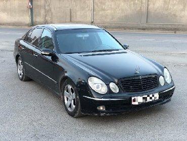 черный mercedes benz в Кыргызстан: Mercedes-Benz E-Class 2002