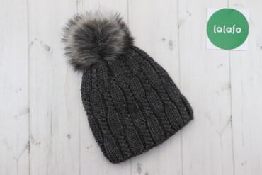Жіноча в'язана шапка    Довжина: 32 см Ширина: 22 см  Стан: дуже гарни