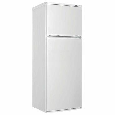 Б/у Двухкамерный Белый холодильник Atlant