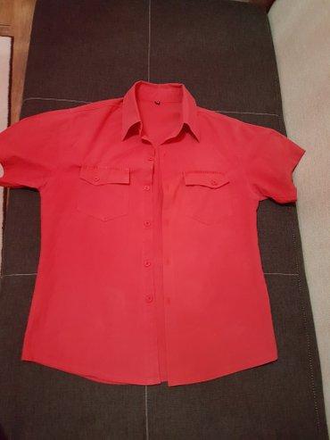 Мужская рубашка из хлопка,размер s-m в Лебединовка
