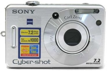 Цифровой фотоаппарат SONY Cyber-shot DSC-W70 в Бишкек