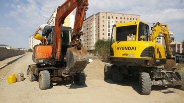 услуги экскаватора в Бишкек