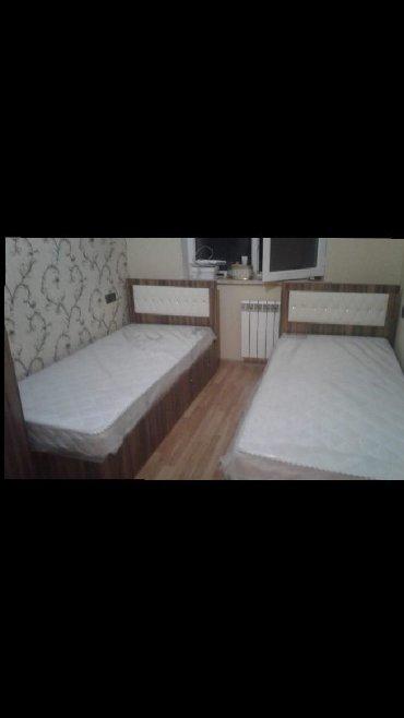 шикарная кровать в Азербайджан: Bazali kravatlar ortapedik doseklerle reng ve ölculer muxdelifdir her