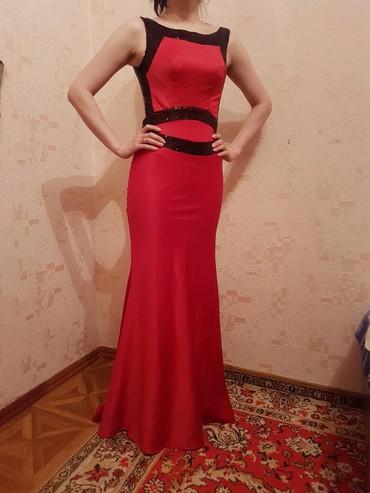 вечернее платье на выпускной в Кыргызстан: Срочно продается Вечернее платье, можно и на выпускной, размер S, одев
