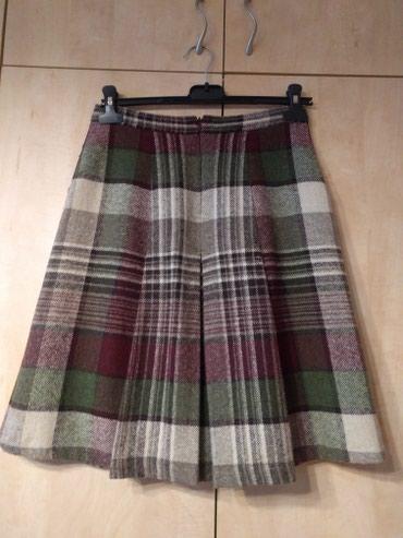 Zara zimska suknja S veličine, vuna sa strane dva džepa, lep model, - Palic