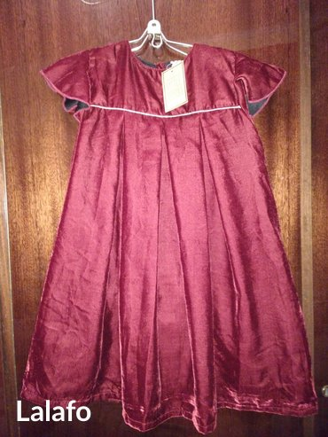 Платье для девочки бархат 8-9 лет primark Англия сшито в Индии в Бишкек