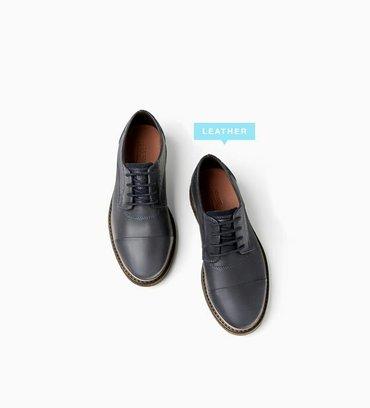 Новые детские кожаные туфли от zara. 28 размер. на 5-6 лет! в Бишкек